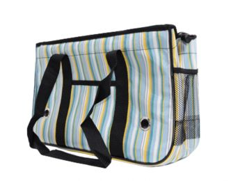 Pet Carrier Soft Sided Travel Bag for Small dogs & cats- Airline Approved, stripe #2