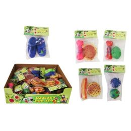 Squeaky Dog Toy - 2 Pack Case Pack 36