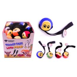 Dog Toy - Tennis Ball with Strap Case Pack 36