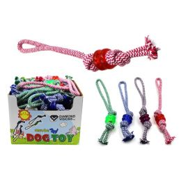 Dog Rope Toy with Ring Case Pack 36