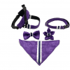 Fenrir purple leopard harness