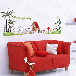 Dog House - Large Wall Decals Stickers Appliques Home Decor