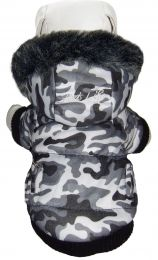 Fashion Pet Parka Coat (Option: X-Small)