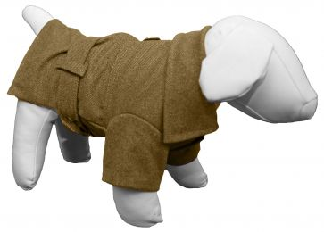 Galore Back-Buckled Fashion Wool Pet Coat (Option: X-Small)
