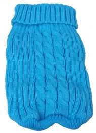 Heavy Cotton Rib-Collared Pet Sweater (Option: X-Small)