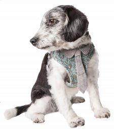 Pet Life  'Fidomite' Mesh Reversible And Breathable Adjustable Dog Harness W/ Designer Neck Tie (Option: X-Small)